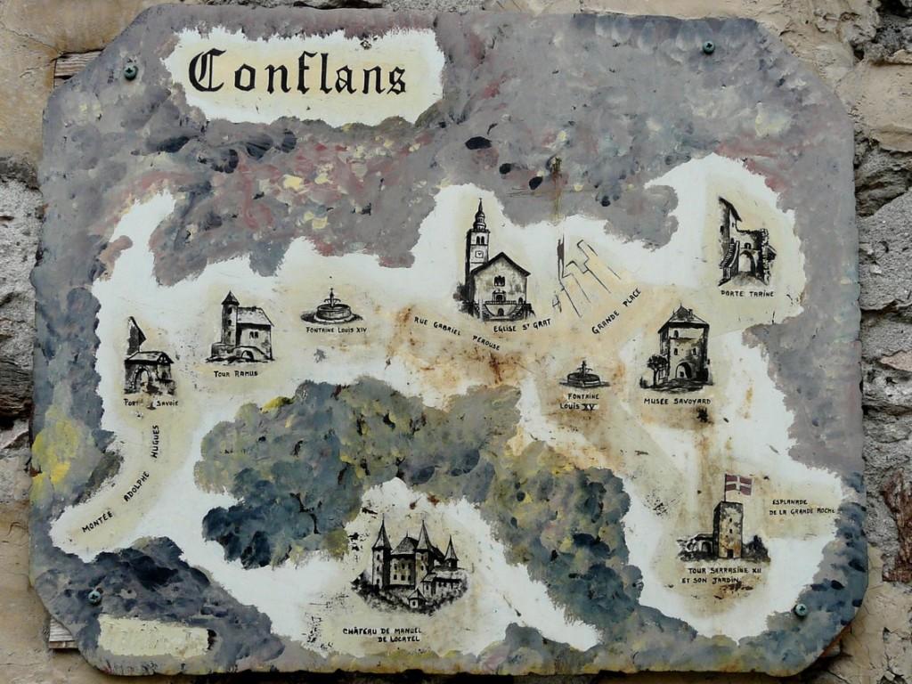 CARTE POSTALE: L'AUTRE CONFLANS ! dans Le Giraphone p1090142b50
